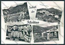 Frosinone Filettino Saluti da Foto FG cartolina D5356 SZD