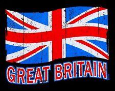 GREAT BRITAIN UNITED KINGDOM UNION JACK ENGLAND PATRIOTIC FLAG T-SHIRT XT90
