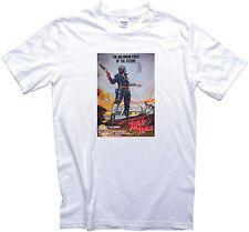 Mad max vintage movie poster t-shirt gents, mesdames et tailles enfants