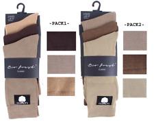 MENS BOYS Cotton Rich Plan Bio Fresh Classic Socks Size 6-11 Job Lot Christmas