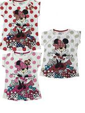 T-shirt Bimba Minnie Glitter, Maglietta Disney *21122