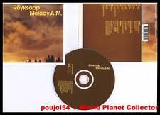 """ROYKSOPP """"Melody A.M."""" (CD) 2001"""