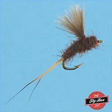 RS2 Emerger BROWN Premium Fishing Flies - Dozen -Select Sizes***