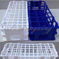 40/60Holes 3 Layers Plastic Test Tube Rack Holder Storage Stand Lab Equipment
