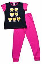Teenage Girl's Long Pyjamas EMOJI Style  Long Pjs 9 to 16 Years