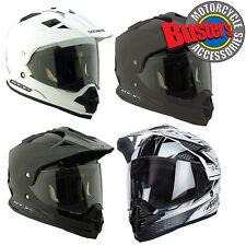 Spada Sting Full Face Motorcross Adventure Dual Sport Motorcycle Crash Helmet