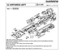 SHIMANO '12 ANTARES LEFT Parts Order-A