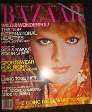 Bazaar 11/1980 Rene Russo Ornella Muti Brooke Shields Patti Hansen Jane Seymour