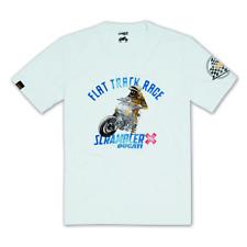 Brand New Genuine DUCATI SCRAMBLER Utah dessert T-Shirt-Blanc