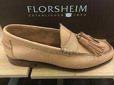 Florsheim Duckie Brown Men's Tassel Loafers Mocassins Slip On Leather Shoes