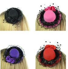 Poizen Industries Rocka Hat Ladies Black Pink Purple Red Goth Emo Punk Girls