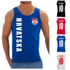 Kroatien Hrvatska Herren Trikot Fanshirt Top T-Shirt WM 2018 Name Nummer