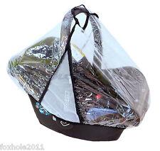 Universal Pluie et Vent Couverture pour siège auto bébé! Maxi Cosi! et beaucoup d'autres