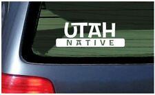 Utah Native Sticker Vinyl Decal Car Die Cut Salt Lake City Provo Moab