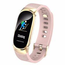 New Sports Waterproof Smart Watch Women Smart Bracelet Band Bluetooth Heart