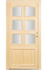 kuporta Holz Haustür > Lohne <  Holztür Eingangstür Fichtetür Wohnungstür Türen