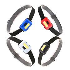 Cob Led Mini head light lamp Headlight 3 Modes Rainproof Head Torch Flashlig 2Q3