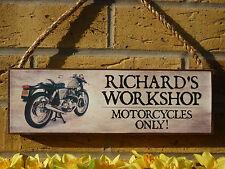 Signo de Motocicleta Clásico Personalizado Moto signo Royal Enfield NORTON ARIEL