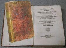 Remondini Bassani 1837 THEOLOGIA MORALIS sancti LIGORIO