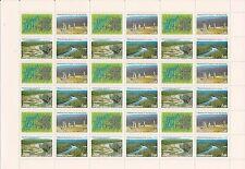 RUSSLAND RUSSIA 2003 SHEET BOGEN UNESCO FORESTS OF KOMI MiNr: 1096 - 1198 **