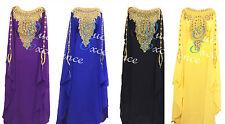 *NEW* Elegant Fully Lined Arab Farasha - Numerous Colours - Maxi Dress Abaya