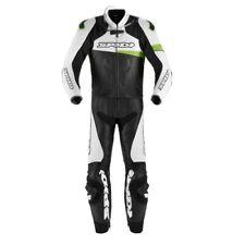 Tuta Suit Traje Anzug pelle RACE WARRIOR TOURING SPIDI Nero Verde Kawa UOMO moto