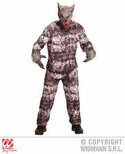 Mens WEREWOLF coat pants mask Warewolf Halloween Beast Creature Fancy Dress