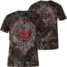 AFFLICTION T-Shirt CK Black Coffee Schwarz T-Shirts