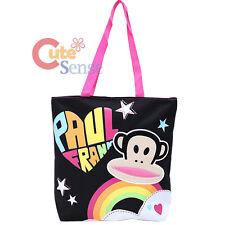 """aul Frank Julius Canvas Tote Shoulder Bag 14"""" Bag with Plush Face Licensed"""