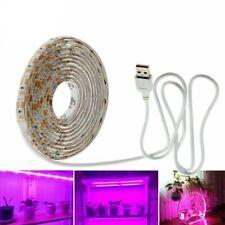 LED Grow Light Full Spectrum USB Strip Light 0.5m 1m 2m 2835 Chip LED Phyto Lamp