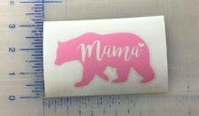 Mama Bear Vinyl Decal MULTIPLE COLORS Mom Cup Mug Window Bumper Laptop Phone