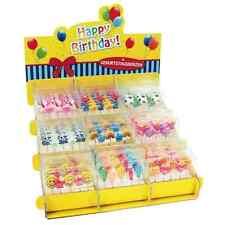 Geburtstagskerzen 5er Set verschiedene Motive, Kerzen, Kindergeburtstag, Kerze