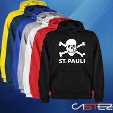 Sudadera capucha ST Paulie Totenkopf Football Futbol calavera skull ENVIO 24/48h