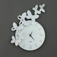 Orologio da Parete BUTTERFLY Tondo - Arti e Mestieri - Made in Italy