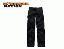 Dickies Redhawk Ladies Trousers, Cargo Combat Workwear Black