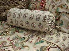 New Custom Ralph Lauren Antigua Paisley Neckroll Pillow Neck Roll Bolster