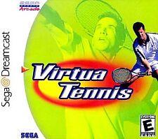 Sega Dreamcast Virtua Tennis - Brand New Factory Sealed White Label