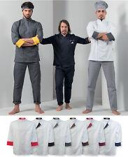 Giacca Coreana Cuoco Manica 3/4 Unisex Korean Style Chef Jacket Sleeve 3/4 C12X