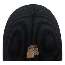 (54861) gorro de lana Hip-Hop gorro de punto Bordado CABALLO