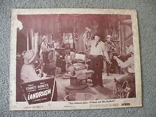 Landrush Charles Starrett as the Durango Kid Lobby Card  Movie #46/531 1
