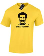 Borat grand succès Hommes T SHIRT FUNNY Ali G RETRO Kazakhstan Blague Design Top