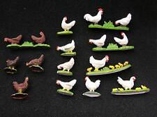 Britains animaux de la ferme, poules multi-annonce