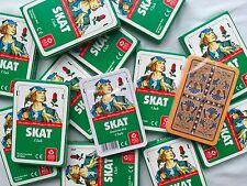 Ab 1,24 € je Spiel - Skat Deutsches Bild Kornblume Skatkarten Karten von ASS