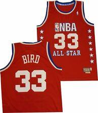 Boston Celtics East 1987 All Star Larry Bird Adidas Swingman 7484A Jersey