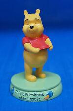 Winnie the Pooh It said Pre-shrunk When I Got It Figurine Disney 17719 Retired