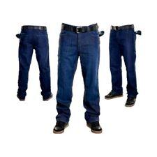 Adio Men's Loose Indigo Denim Jeans Casual