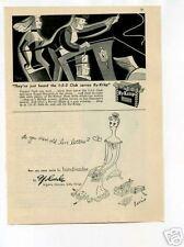 Ry-Krisp Crackers Yolande Lingerie 1947 Original Ad