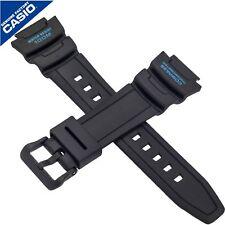Genuine Casio Watch Strap Band for SGW-500H-2BV SGW 500H 500 BLACK BLUE 10431876