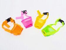 Maulkorb Soft-Maulkorb - für kleine bis große Hunde - diverse Neon Farben + pink