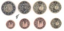 Spanien alle 8 Münzen 1 Cent - 2 Euro Kursmünzenset KMS alle Jahre wählen